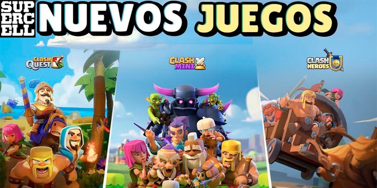 Clash Quest, Clash Mini y Clash Heroes