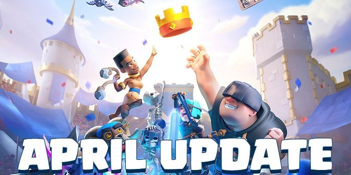 Clash Royale Actualización Abril Destacada