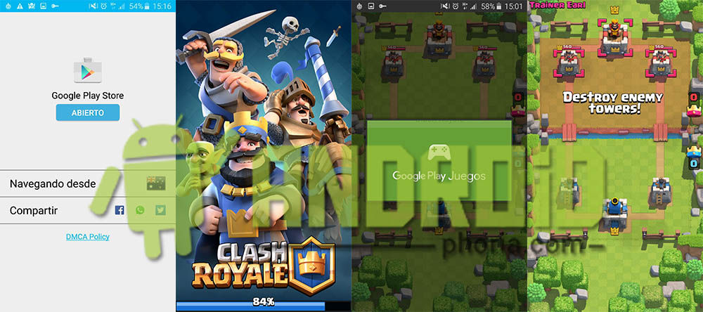 Clash Royale Android oficial beta