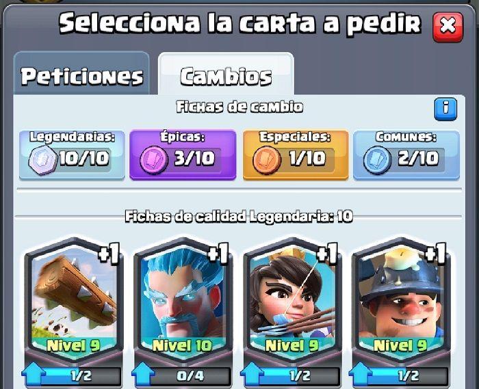Clash Royale Fichas