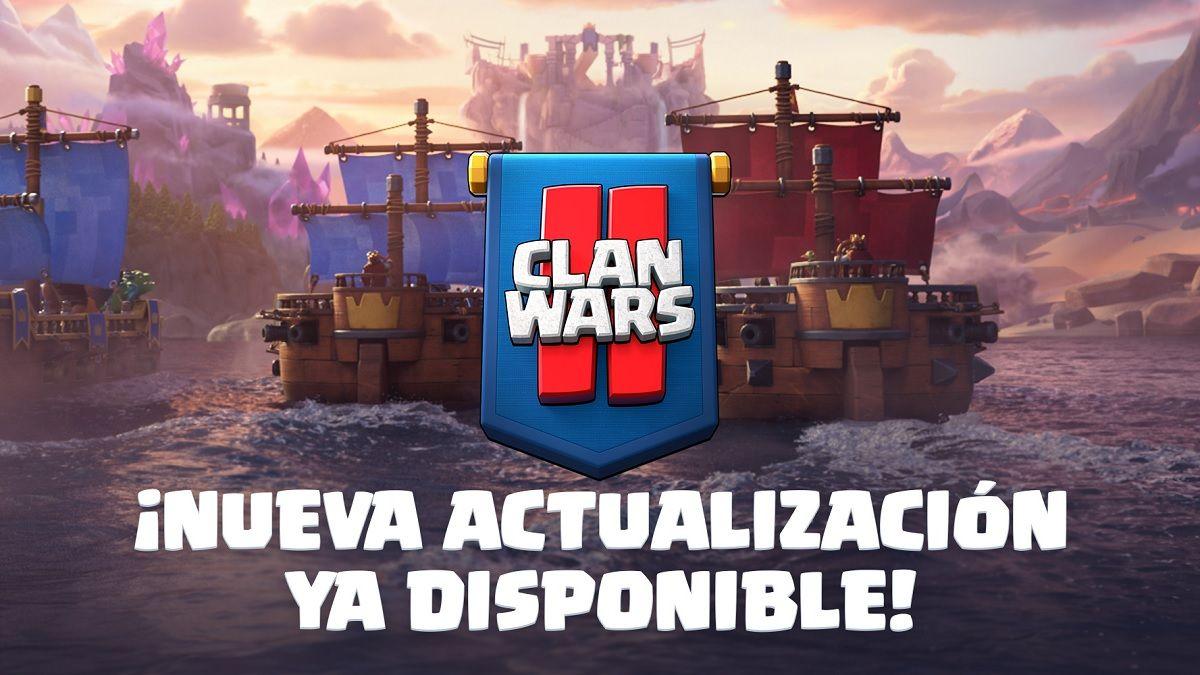 Clash Royale Guerras de Clanes 2 Actualizacion