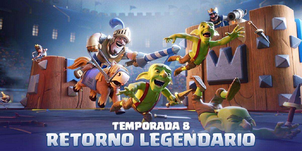 Clash Royale, Temporada 8, el Retorno Legendario