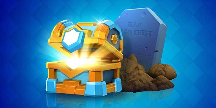 Clash Royale elimina cofre clan