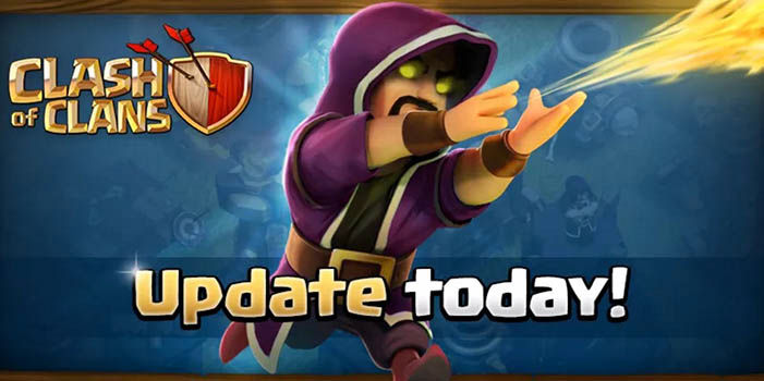 Clash of Clans Actualizacion