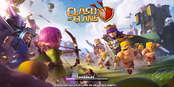 Clash of Clans no carga