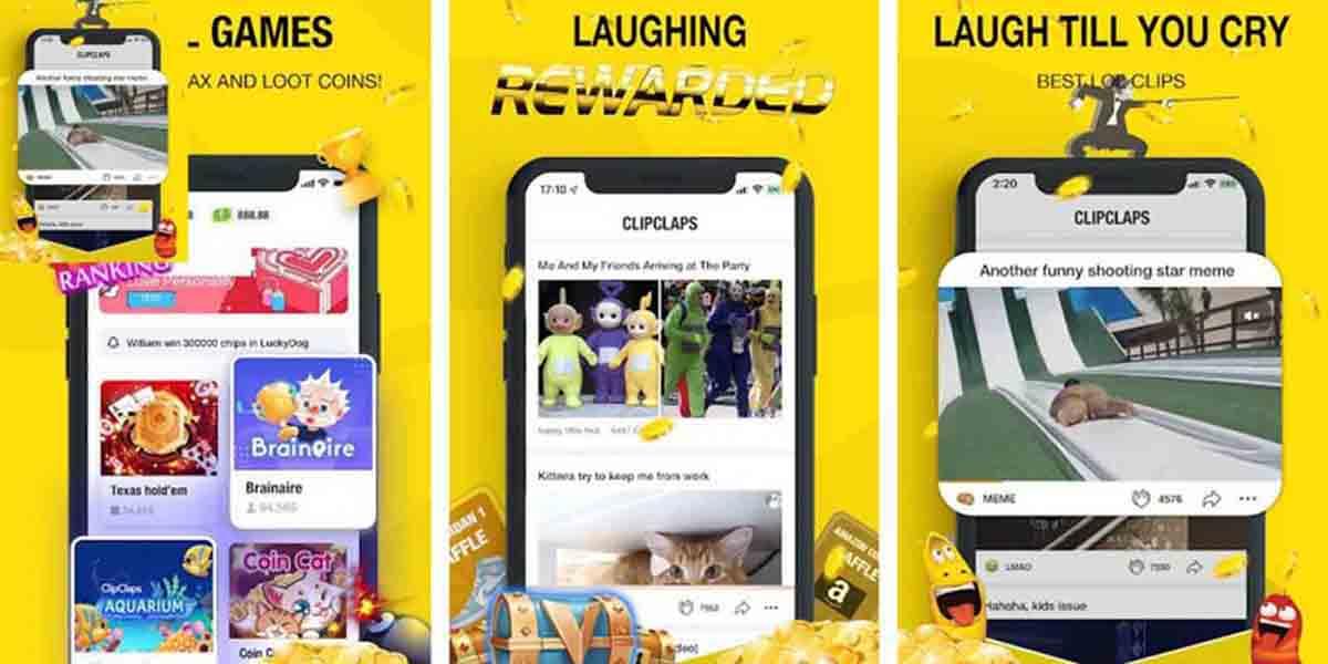 ClipClaps app para ganar dinero