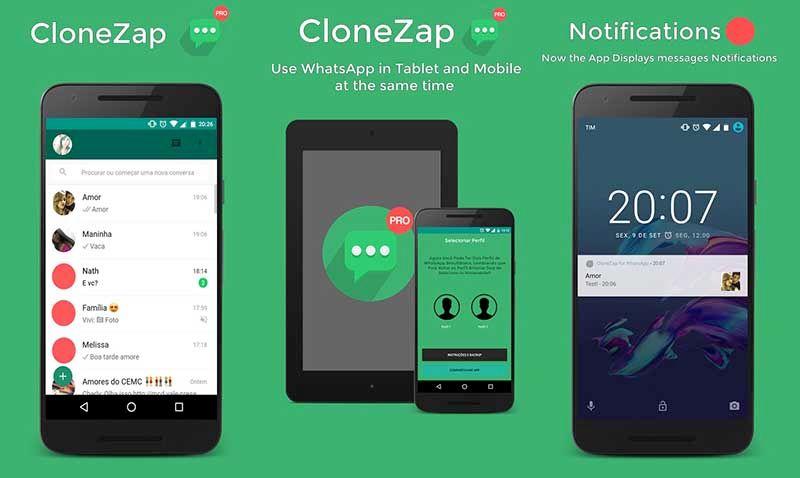 CloneZAP clonar WhatsApp