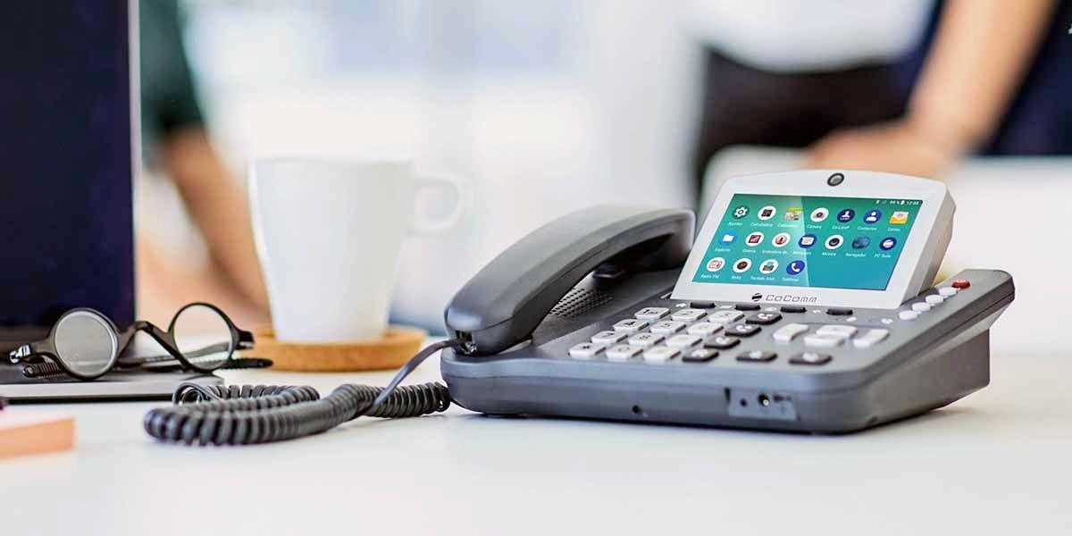 CoComm F840 el primer móvil fijo con Android y 4G