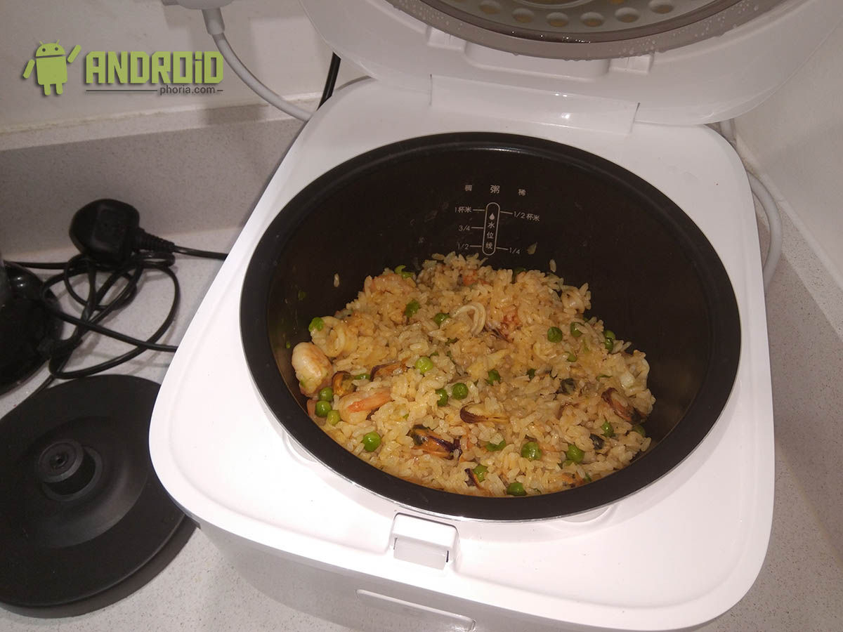 Cocinando Arroz Xiaomi