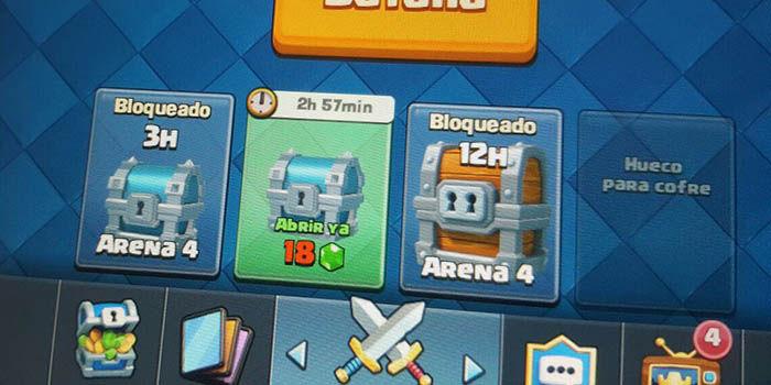 Cofre gigante gratis Clash Royale