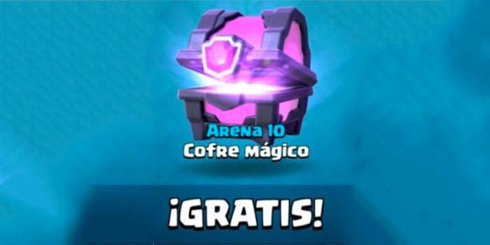 Cofre magico clash royale