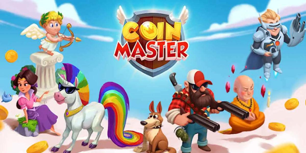 Coin Master juego tiradas y construcción