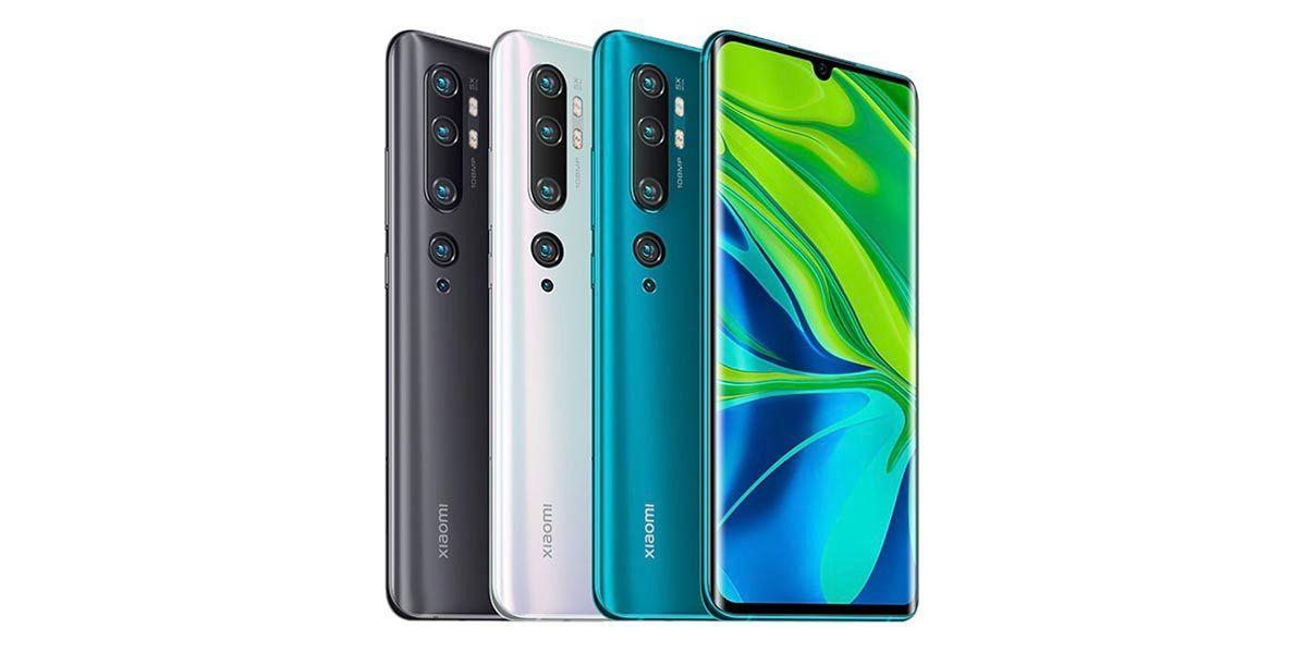 Colores-Xiaomi-Mi-Note-10