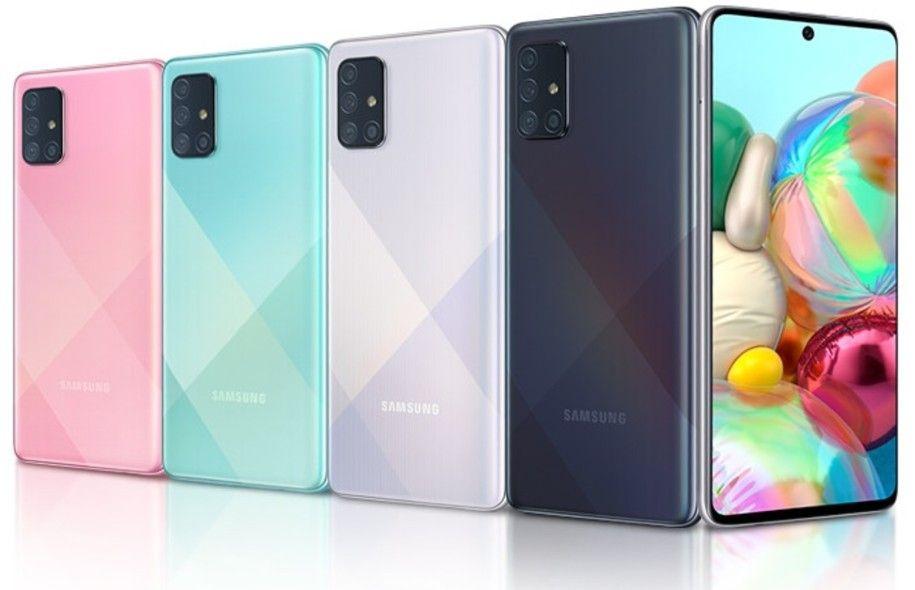 Colores del Samsung Galaxy A72