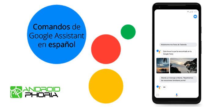 Comandos de Google Assistant en español