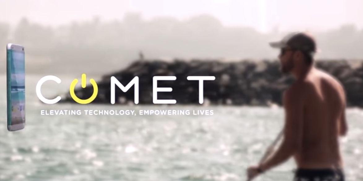 Comet, el móvil que flota en el agua