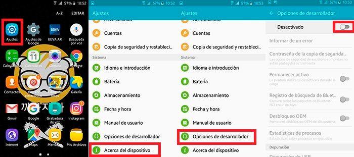 Como activar modo oscuro Google Chrome Android