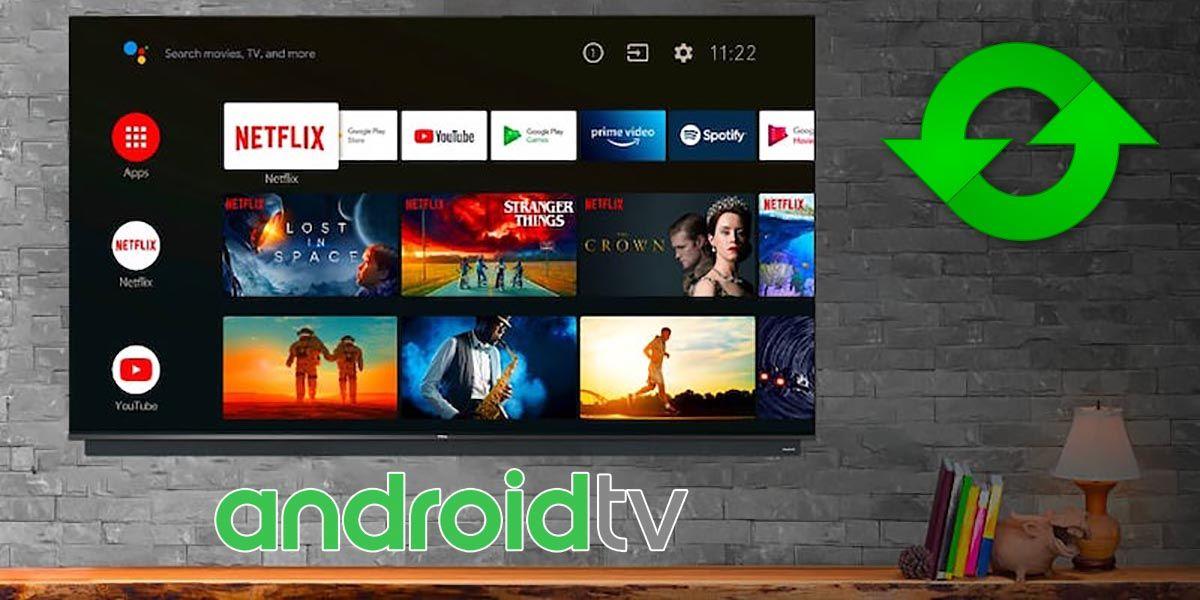 Como actualizar el Android TV de un Smart TV