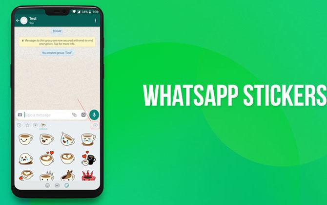 Como agregar stickers personalizados WhatsApp Web
