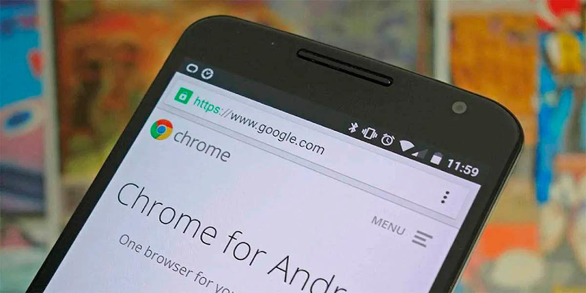 Como agrupar pestañas google chrome Android