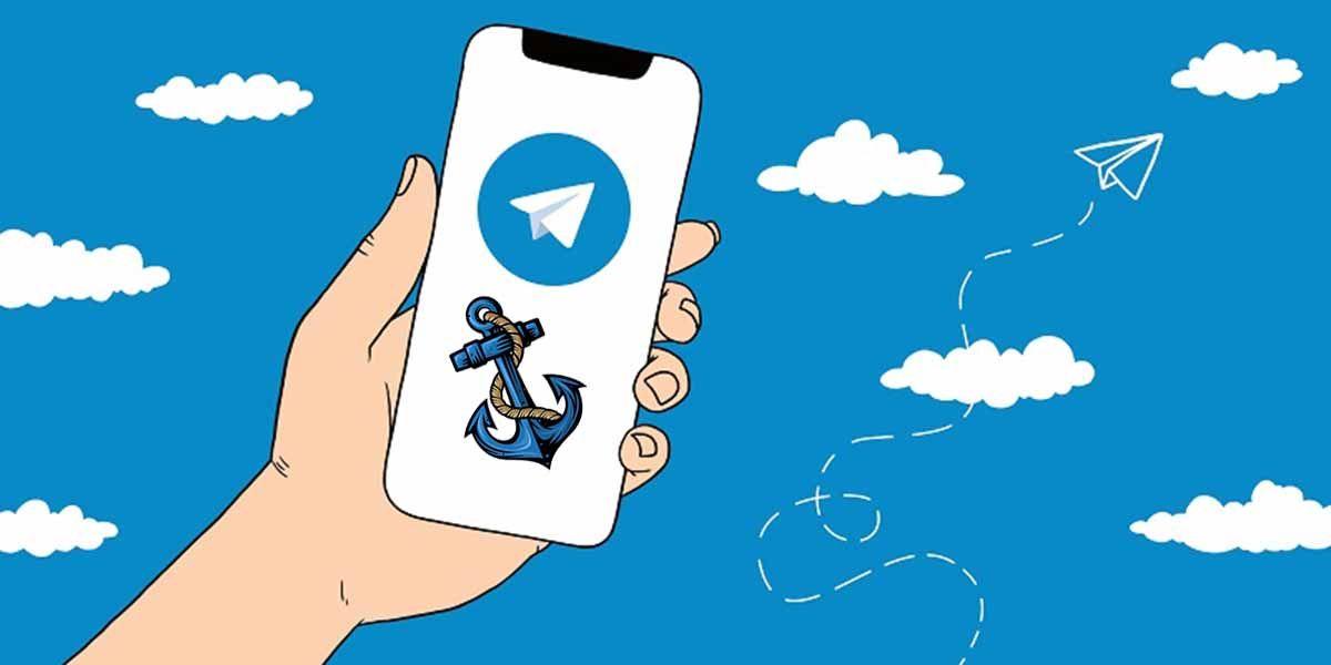 Cómo anclar mensajes en Telegram