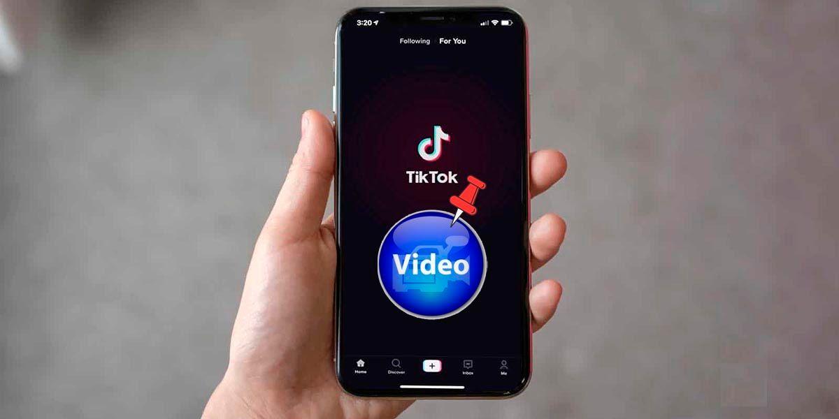 Como anclar videos en el perfil TikTok
