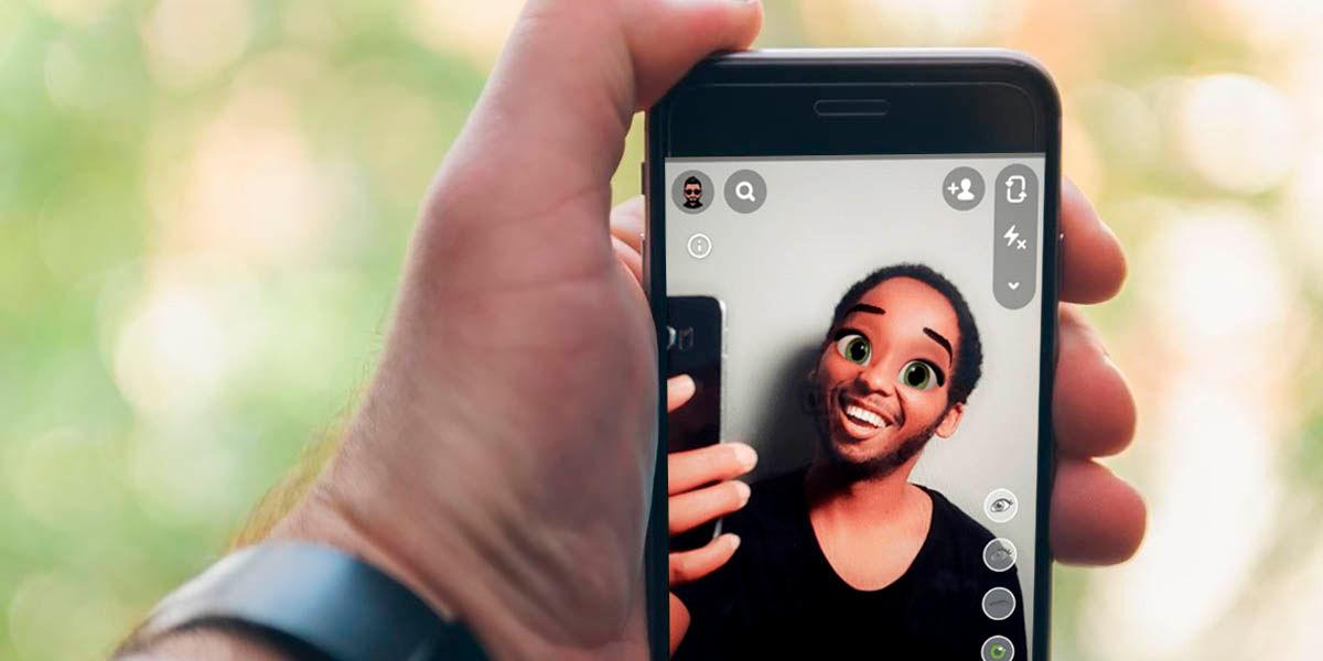 Como animar tu cara filtro Snapchat
