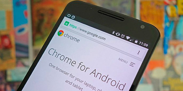 Como borrar historial chrome Android