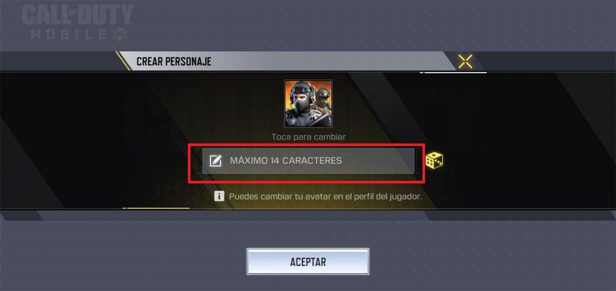 Como cambiar de cuenta Call of Duty Mobile paso 6