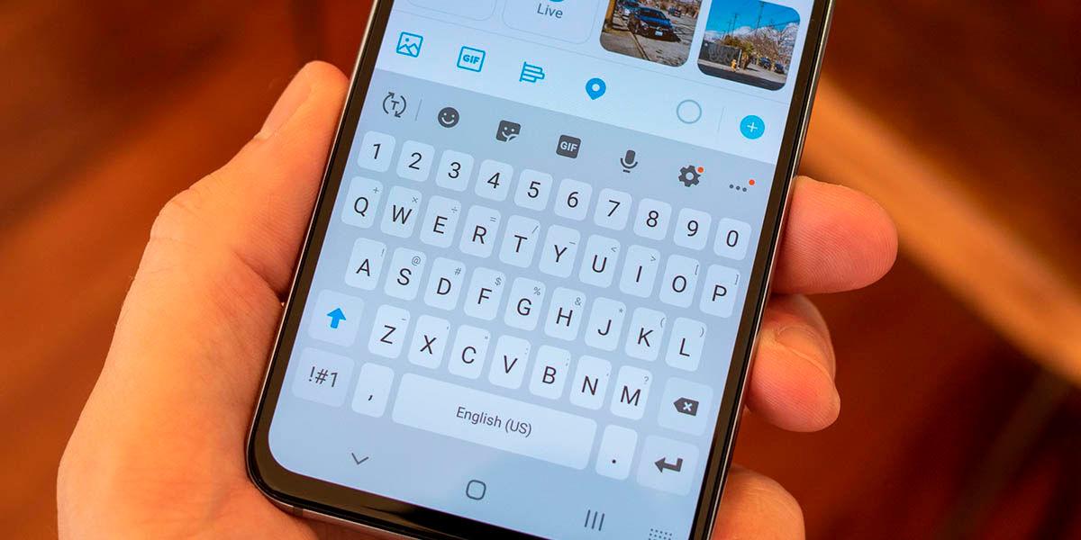 Cómo cambiar teclado Samsung Galaxy por Gboard