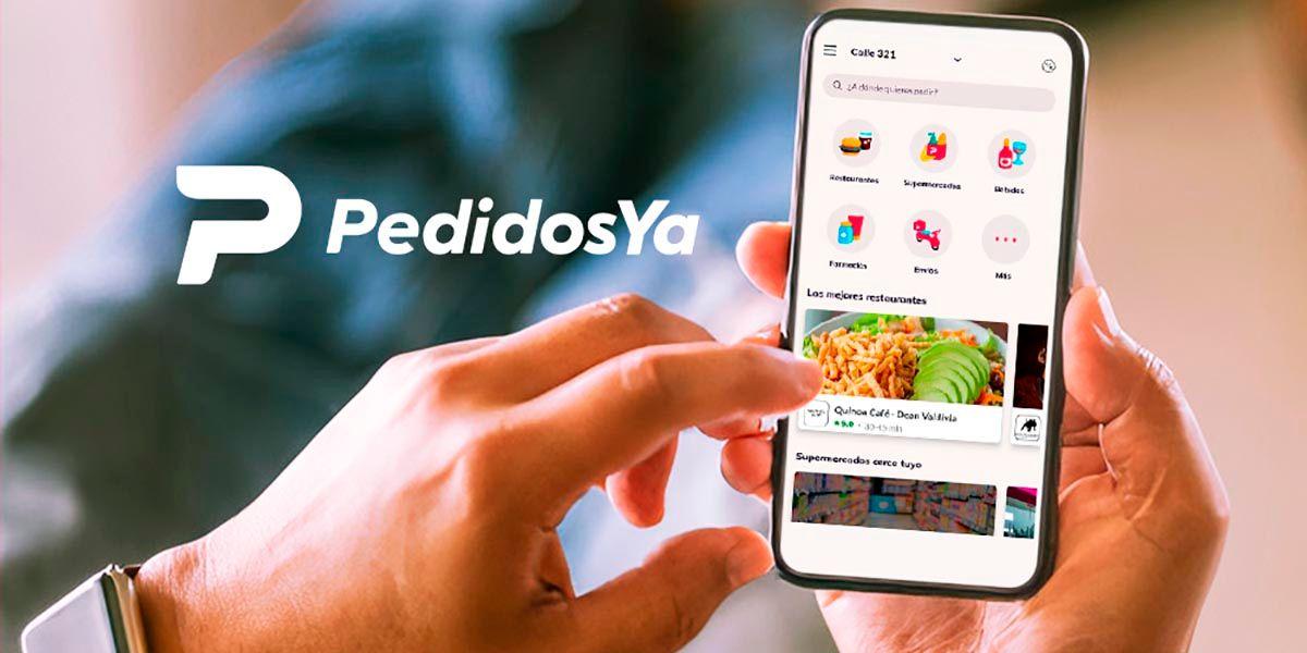 Como chatear con Pedidosya