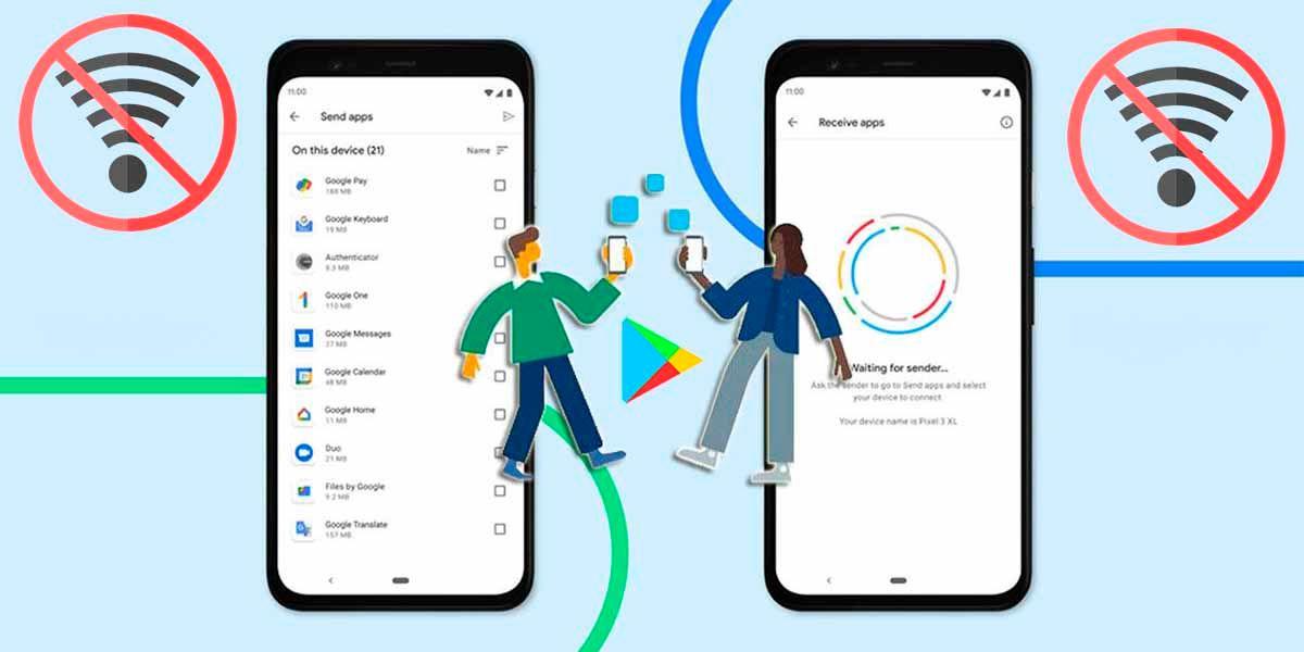 Cómo compartir aplicaciones en Android sin tener Internet