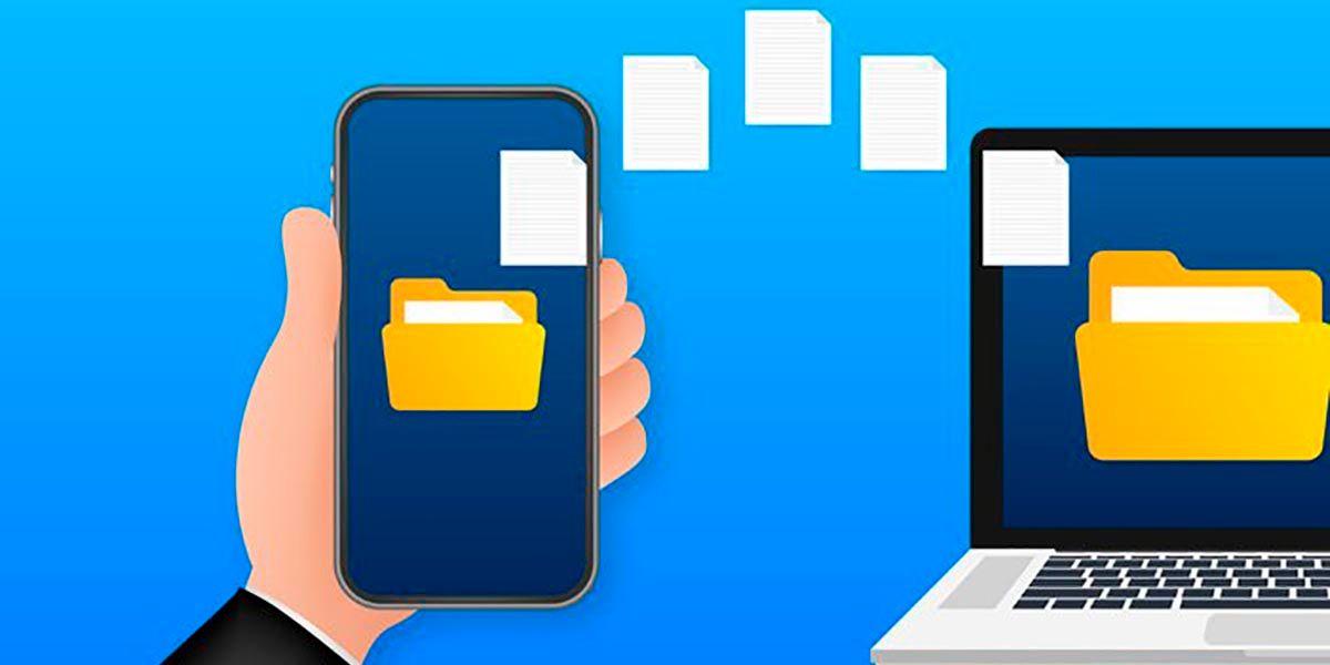 Como compartir archivos entre el PC y el movil ShareDrop
