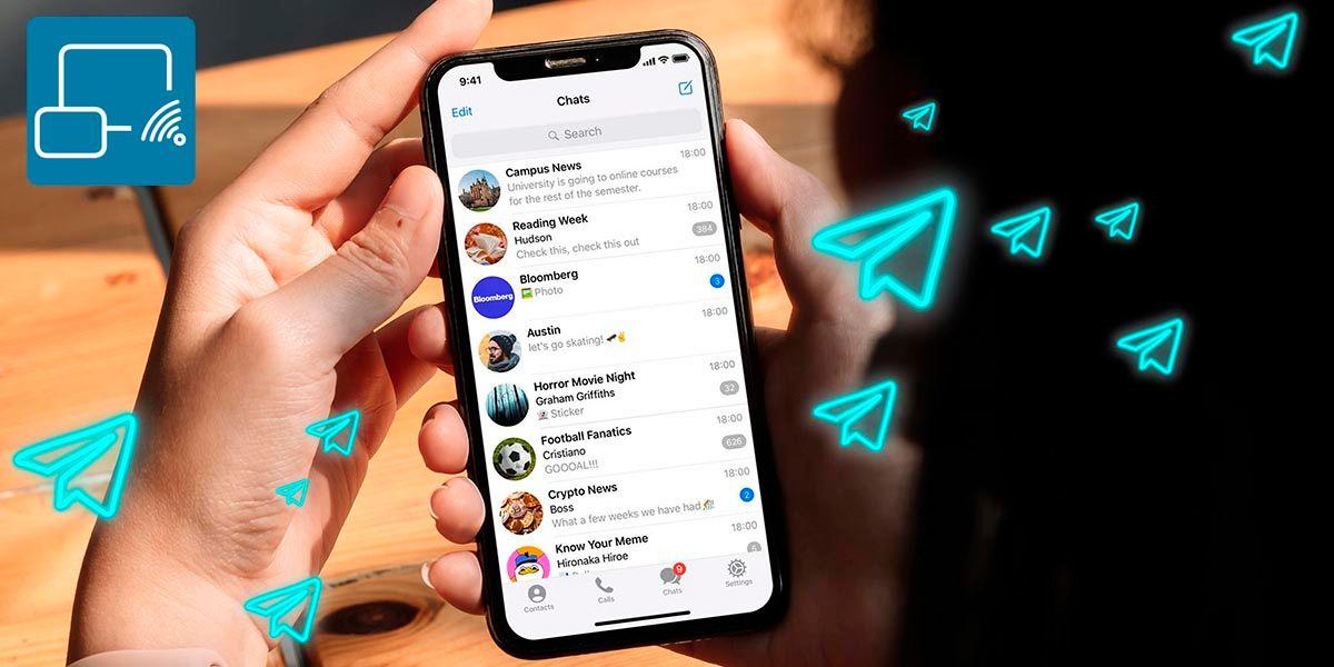 Como compartir la pantalla en una videollamada Telegram