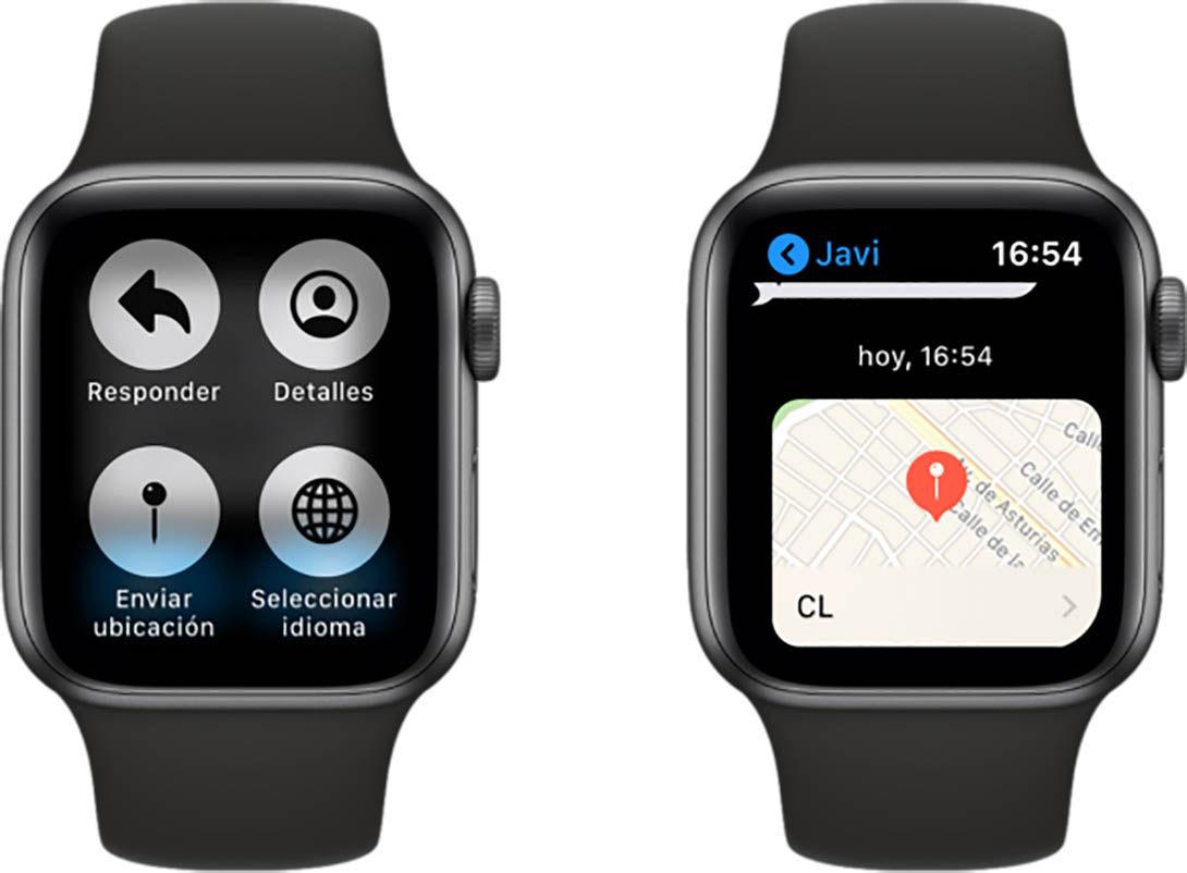 Cómo compartir ubicación Apple Watch