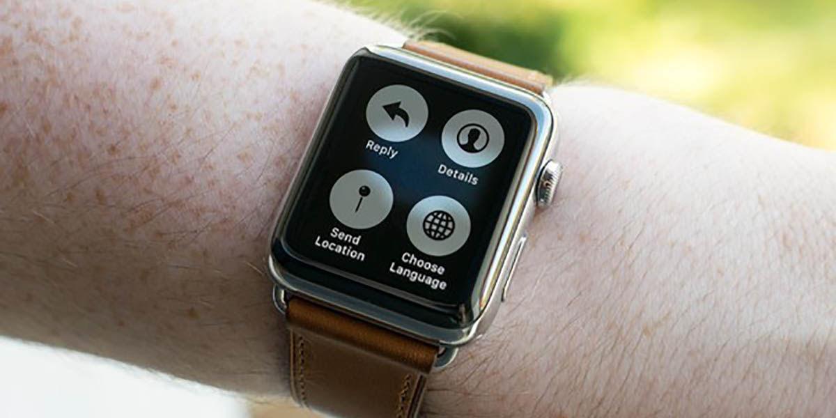 Cómo compartir ubicación desde Apple Watch