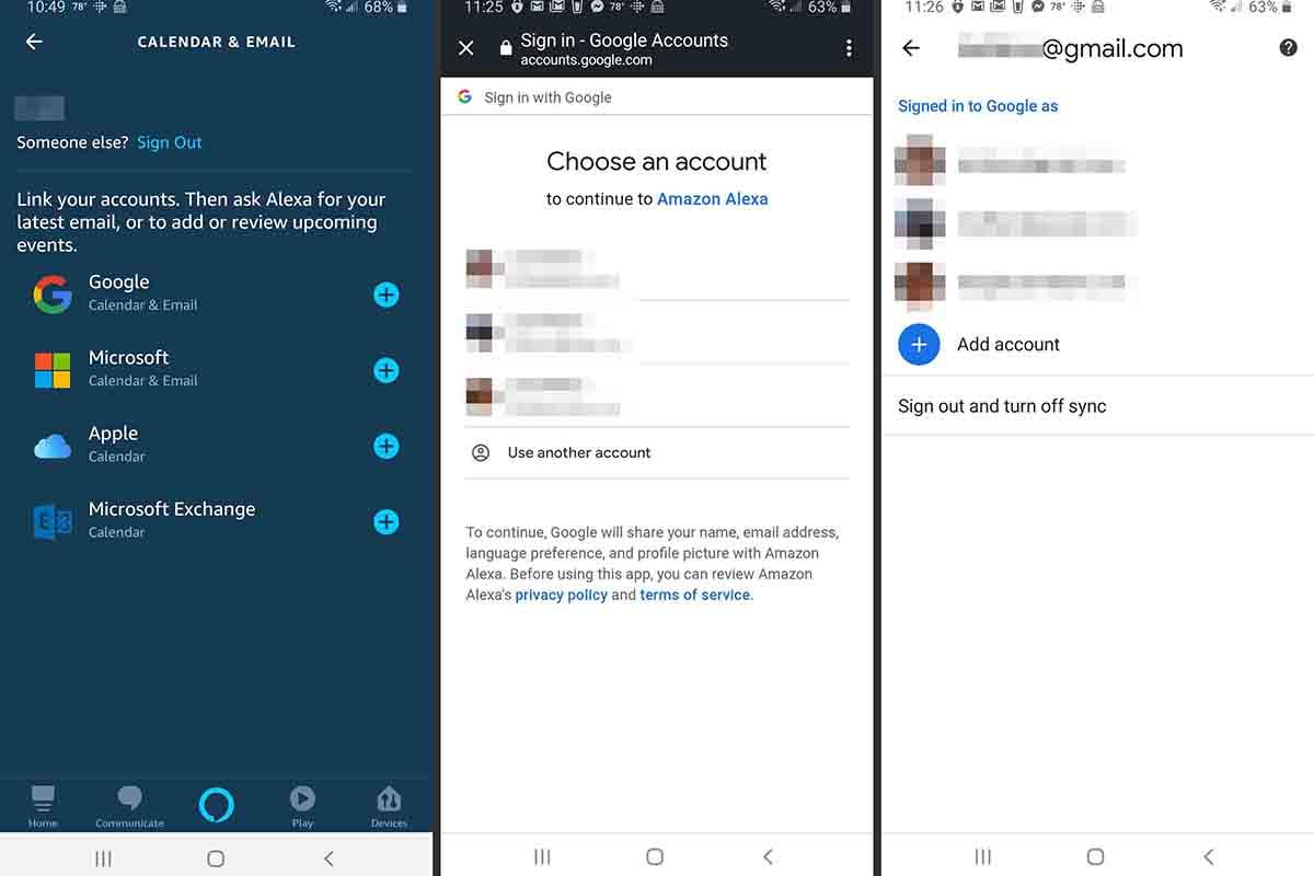Cómo configurar Alexa con el calendario de Google