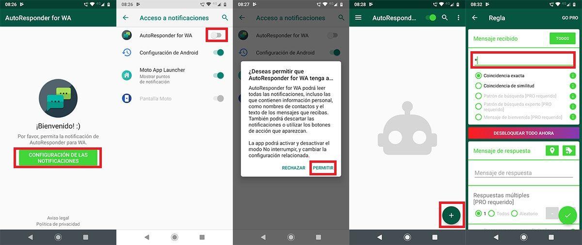 Como configurar AutoResponder for WA Android