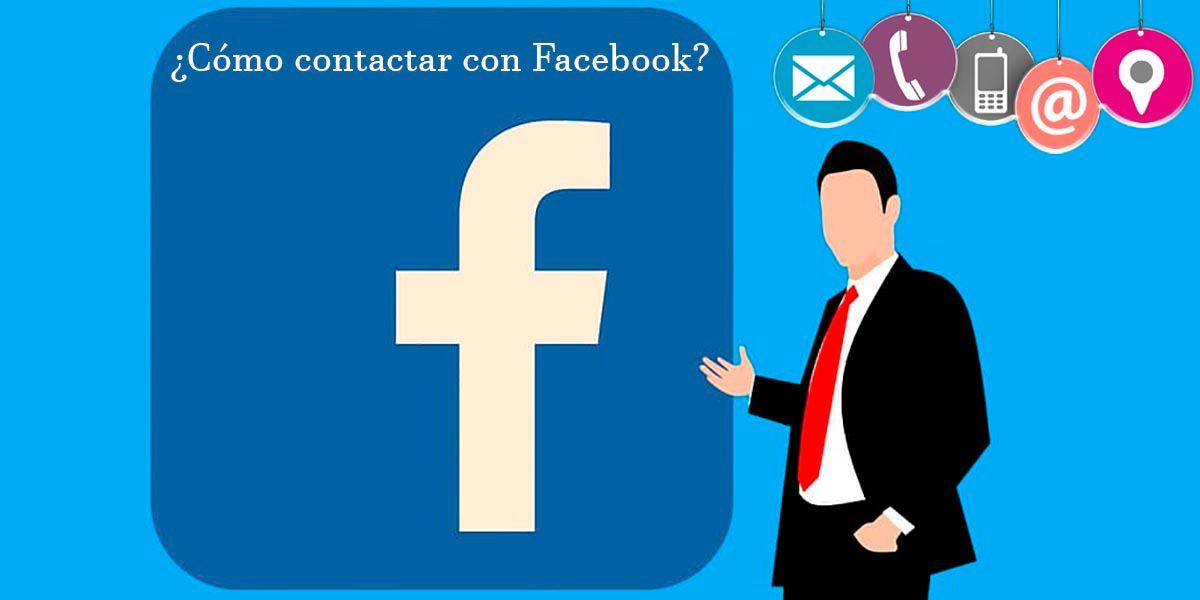 Como contactar con Facebook