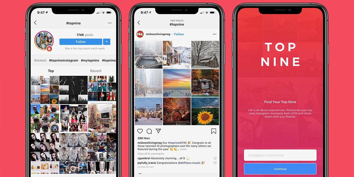 Como crear mosaico mejores fotos del ano Instagram