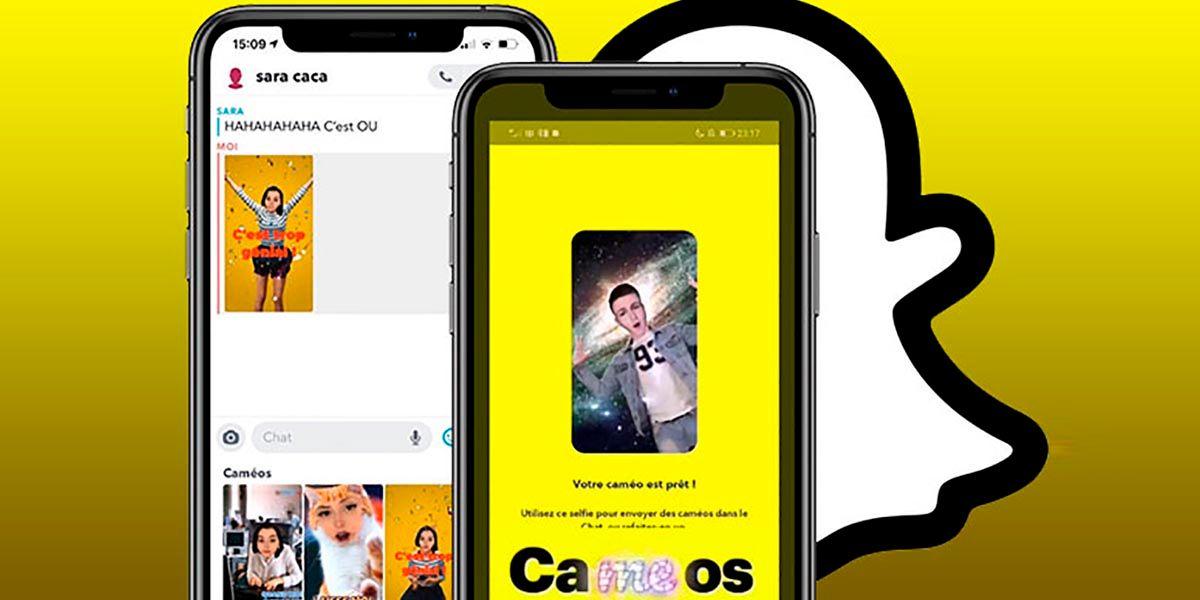 Como crear stickers con tu cara en Snapchat usando Cameos