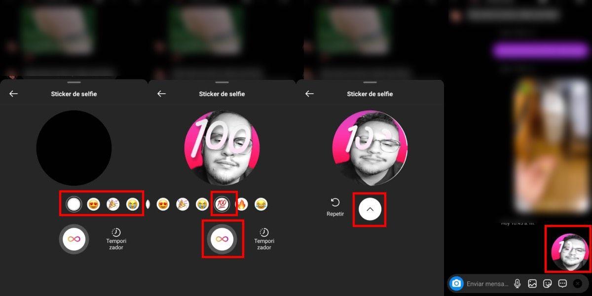 Cómo crear stickers con tu selfie en Instagram