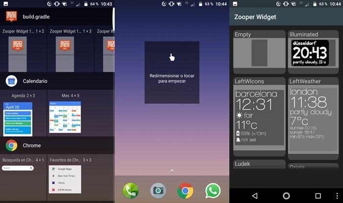 Como crear un widget con zooper widget