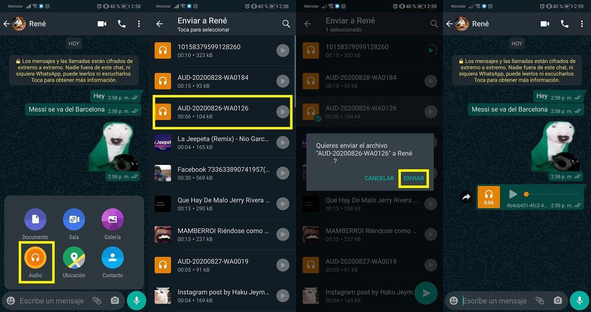 Como crear y enviar stickers con sonido en WhatsApp (1)