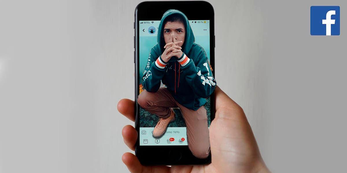 Como crear y publicar fotos 3D en Facebook