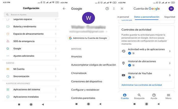 Como desactivar ubcicacion en Android