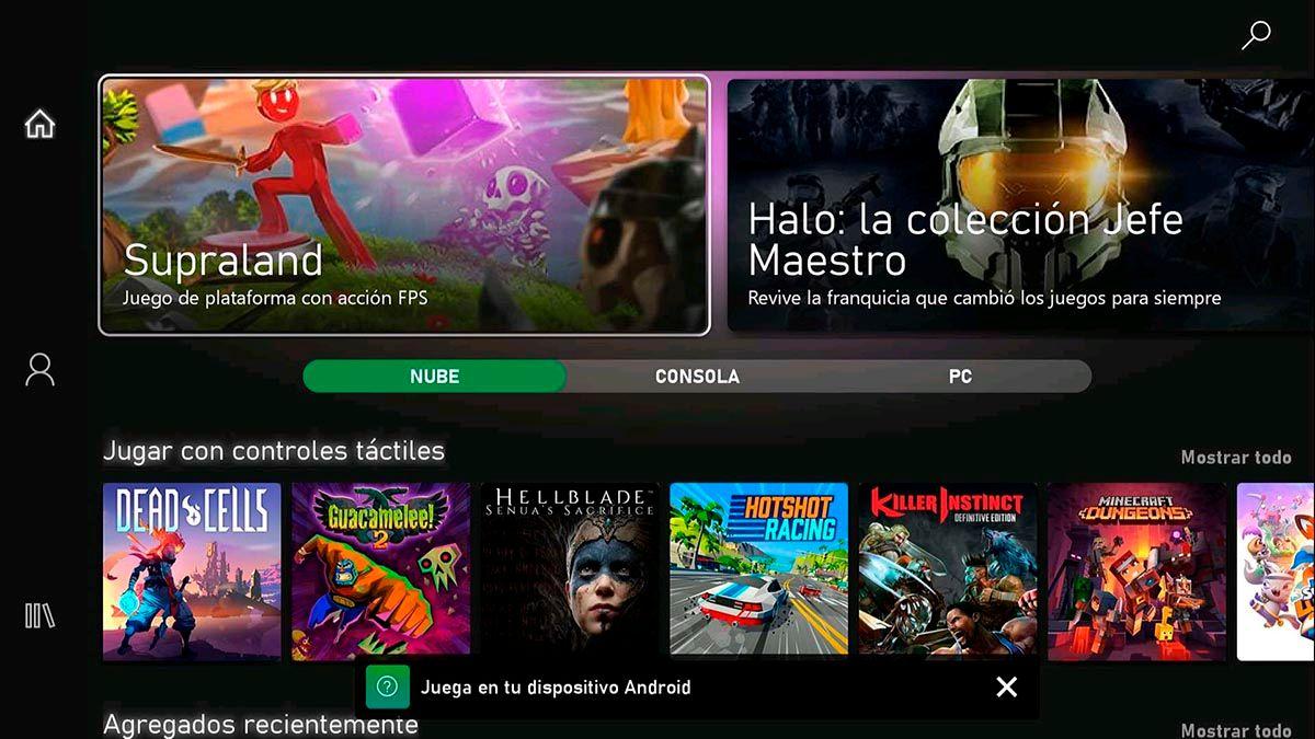 Como descargar Microsoft Game Pass Android TV