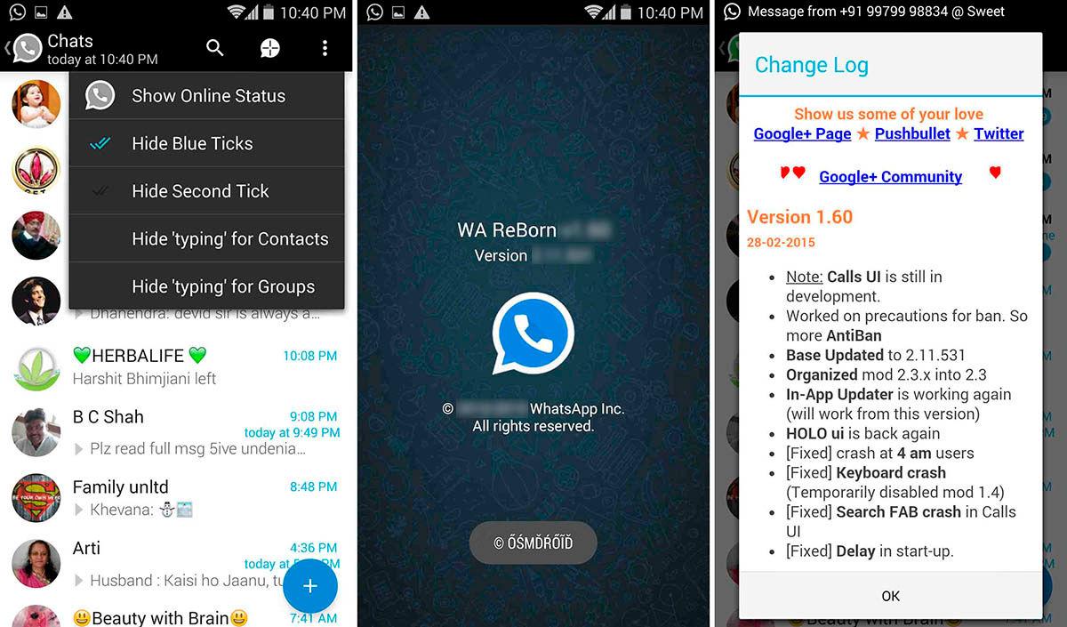 Como descargar WhatsApp Plus Reborn