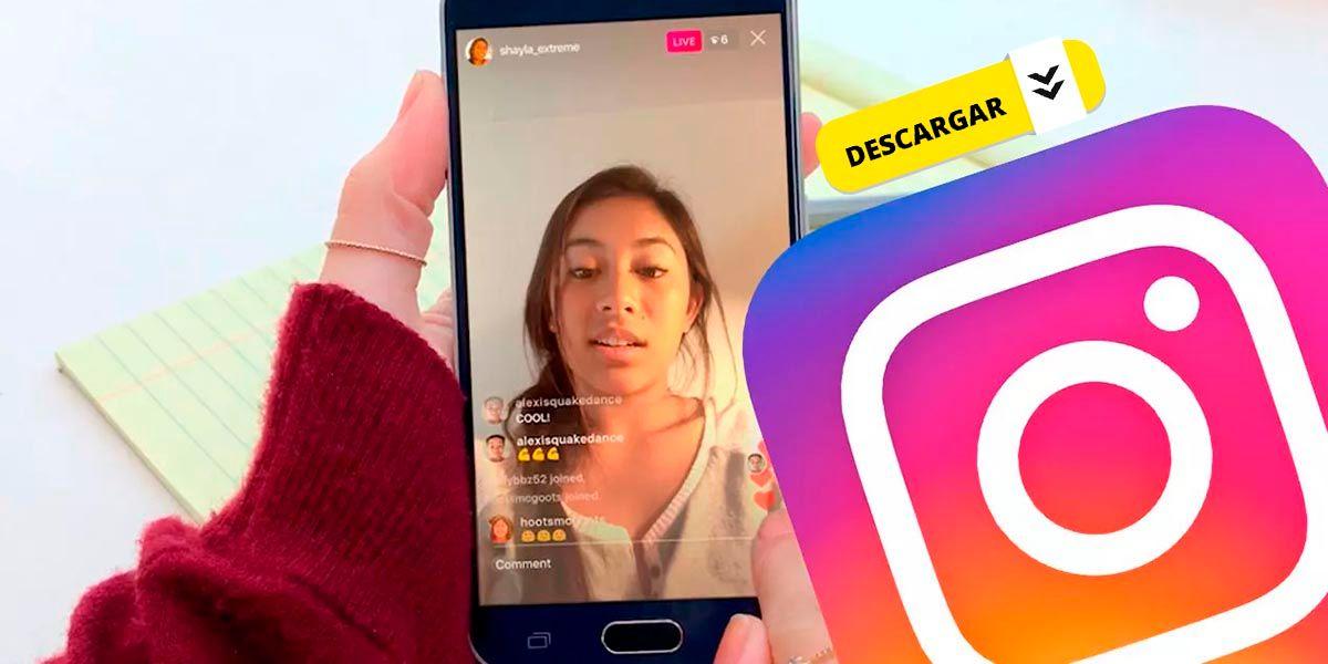 Como descargar directos de Instagram