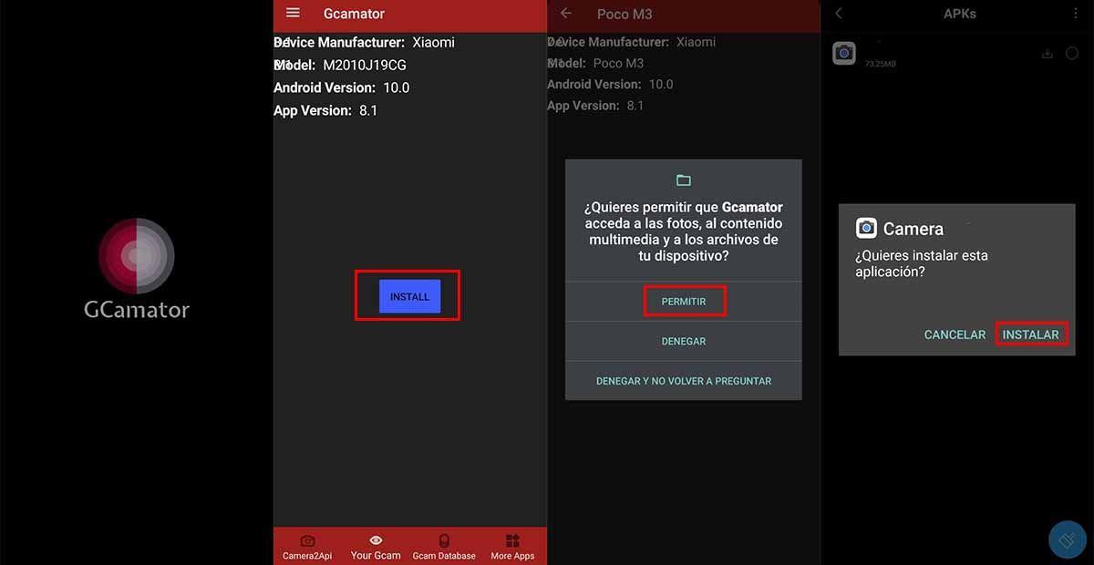 Cómo descargar e instalar la camara de Google en tu Poco M3 con Gcamator